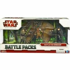 "Star Wars 3.75"" Legacy Battle Pack Assort Battle for Endor"