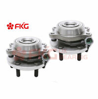 (2)New Front Wheel Hub Bearing For Nissan Frontier Pathfinder Equator 4WD 515065