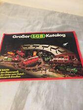 Vintage Grober LGB Toy Catalogue Trains Railway