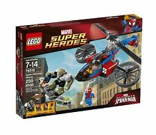 *NEW* LEGO Spider Helicopter Rescue- Set 76016 Green Goblin Mary Jane Spiderman