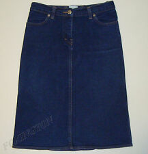 "BEAUTIFUL SASS&BIDE DENIM SKIRT AUS 8 ""BOOGIE & GRINCH"" Made in Australia"