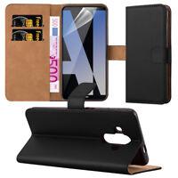 Hülle für Huawei Mate 10 Pro Case Schutz Cover Wallet Etui Flip Schwarz Tasche