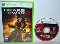 Gears of War 2 (Microsoft Xbox 360, 2008) II Xbox One Compatible Video Game MINT