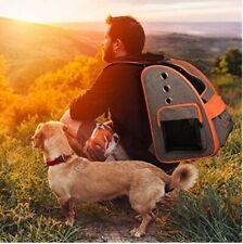 Trasportino cane gatto Viaggio Trekking Bici Moto Aereo Treno o Auto 4-6 kg