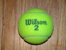 50 Used Tennis Balls Wilson brand.