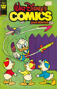 Walt Disney's Comics and Stories #485 - Whitman variant, February 1981, uncommon