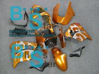 Orange ABS Fairing Bodywork Plastic Kit Kawasaki Ninja ZX-9R 2002-2003 015 D3