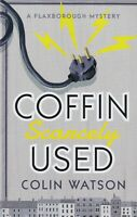 COFFIN SCARCELY USED by COLIN WATSON (PAPERBACK) BOOK 9781788420150