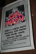 Car Wash 1976 27x41 Original Movie Poster USA one sheet  Antonio Fargas