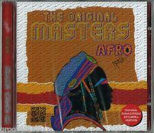 THE ORIGINAL MASTERS  AFRO MANIA vol 1 CD 13 TRACKS NUOVO NEW MINT COSMIC MECCA