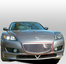 2004-2008 MAZDA RX-8 COUPE FRONT TOP UPPER BUMPER BILLET GRILLE GRILL INSERT NEW