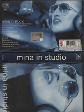 MINA rara VHS ORIGINALE Mina In Studio MADE in ITALY 2001 + libretto fotografico