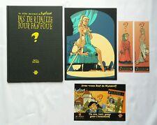 BD TT - Pas de Ripaille pour Fanfoue? + 2 ex-libris + 2 marques page / MEYNET