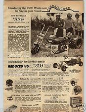 1971 PAPER AD Terrain Cycle 5 HP Briggs Stratton Take-Apart Torque Converter