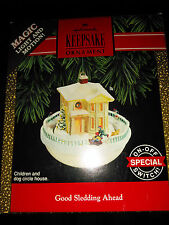Hallmark Collectible Christmas Ornament - Good Sledding Ahead #cheaphallmark