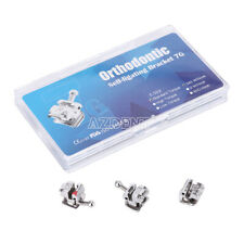 New Listingazdent Ortho Metal Self Ligating Brackets With Movable Hook Standard Turque