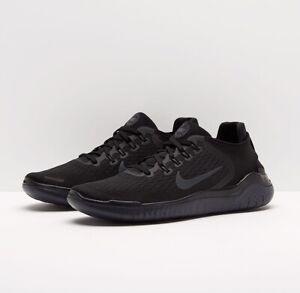 Nike Free RN 2018 Running Shoes Triple Black Men's Sneakers Multi Sz 942836-002