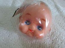 "Vintage Fibre-Craft - 5"" Kewpie Cupid Doll Head #7532 Brand New/Sealed"