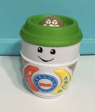 Fisher Price Laugh and Learn on the Glow Coffee Cup Toy 6-36 Months Fisher Price