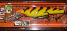"6"" Little Ernie Li'l Ernie Musky Mania Pike Crankbait Orange Tiger LE-24"