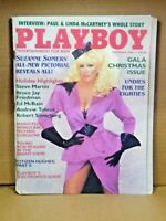 Playboy December 1984 - Suzanne Somers Gala Christmas Issue