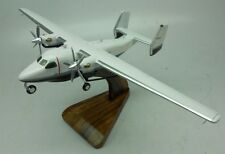 PZL M28 Skytruck STOL Light Aircraft Wood Model Replica Large Free Shipping