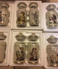 Danbury Mint Mj Hummel Spice Jar Set Complete Set 24 pc