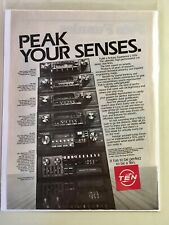 Ten Car Stereo Vintage 1982 Ad