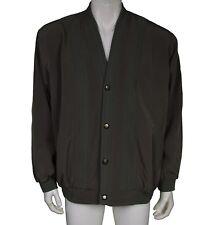 Men's Retro Style Army Green Jacket Men's Size XL