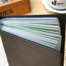 Business Name Organizer ID Credit Card Holder Case Book 120 Cards
