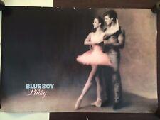 24X36 1990 POSTER SEXY DANCERS PINKY & BLUE BOY BALLERINA TUTU BLUE JEANS B7