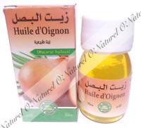 Huile d'Oignon (Macérât) 100% Naturelle 30ml Onion Oil, Aceite de Cebolla