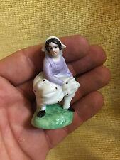 Biscuit Miniature XIX 19 ème Objet de Vitrine Humoristique