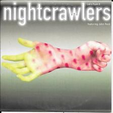 CD SINGLE 2 TITRES--NIGHTCRAWLERS FEAT.JOHN REID--LET'S PUSH IT--1995