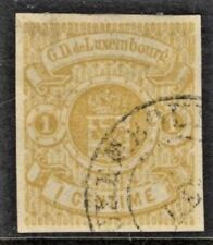 LUXEMBOURG Sc 4 MINT HR SIGNED FVF