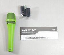 Mxl Mics Lsm-9-Pop Premium Dynamic Handheld Vocal Microphone, Green