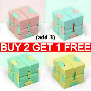 Sensory Infinity Cube Stress Fidget Toys Anxiety Relief Kids Adults Ship It Fast