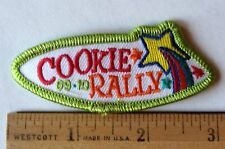 Girl Scout 2009-2010 COOKIE SALE PATCH - RALLY Leap To Lead Selling Award Badge