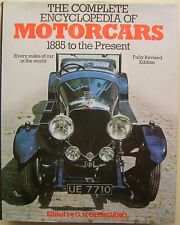 Complete Encyclopedia of Motorcars 1885 to the Present 4300 makes + 2400 photos