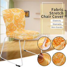 Dining Chair Seat Cover Slipcover Office Computer Banquet Removable Washabl