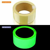 Glow In The Dark Luminous Fluorescent Night Self-adhesive Safety Sticker Tape so