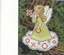**HUGS AND KISSES ANGEL ORNAMENT TO STITCH - PATTERN ONLY*CROSS STITCH PATTERN**