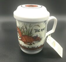 Chinese ~Years Of The Rat~Beautiful Tea Cup With Stainer, Cup And  00003085 Top- Outstandi
