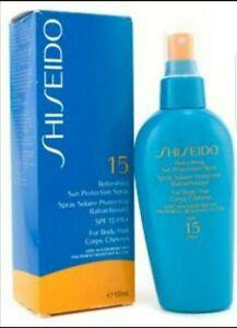 Shiseido Refreshing Sun Protection Spray SPF15 PA+ (For Body & Hair) 150ml