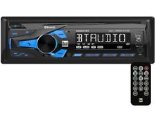 DUAL XRM47BT Single-DIN In-Dash Mechless AM/FM Receiver +Bluetooth +AUX/USB