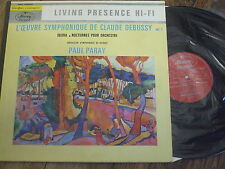 120.536 MLL Debussy Iberia / Nocturnes / Paray