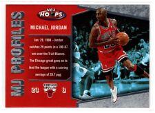 MICHAEL JORDAN BULLS  2006 FLEER NBA HOOPS MJ PROFILES #MJ-28