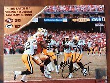Terrel Owens Autograph Photo The Catch 2 8x10