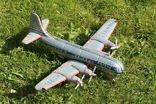 Ancien jouet tôle avion Boeing Stratocruiser quadri-réacteur United Nomura toy
