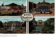 Gruss aus Frankfurt am Main AK um 1920 Mehrbild Hessen 1506038